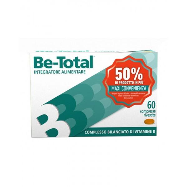 BeTotal - Integratore per stanchezza ed affaticamento - 60 compresse