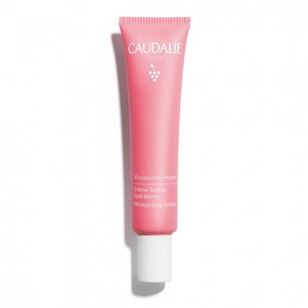 Caudalie Vinosource Hydra Crema Sorbetto Idratante - Crema viso lenitiva ed idratante - 40 ml