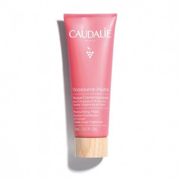 Caudalie Vinosource Hydra Maschera Crema Idratante - Adatta per pelle secca e sensibile - 75 ml