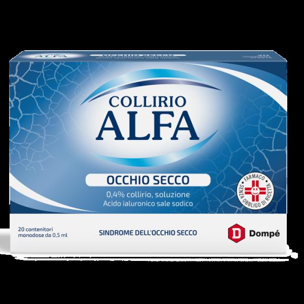 Collirio Alfa Occhio Secco 20 Flaconcini...