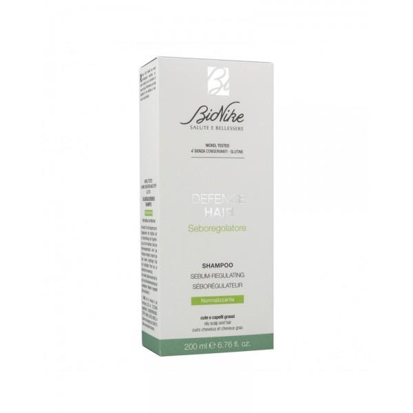 Defence Hair Shampoo Seboregolatore - Adatto per capelli grassi - 200 ml