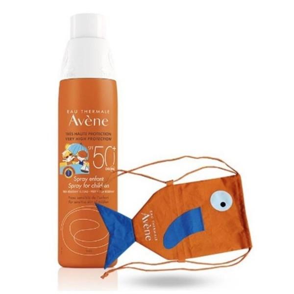 Eau Thermale Avene Spray Corpo Bambini SPF 50+ Protezione Solare Molto Alta 200 ml + Gadget Omaggio