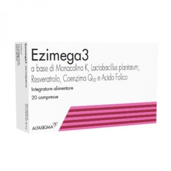 Ezimega 3 - Integratore per il benessere cardiovascolare - 20 compresse