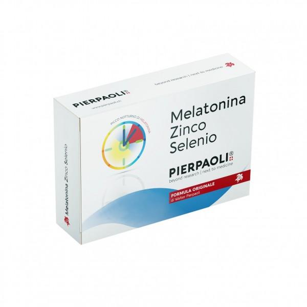 Melatonina Zinco Selenio 30 Compresse Pi...