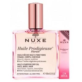 Nuxe Huile Prodigieuse Florale - Olio prodigioso Secco Floreale 100 ml + Profumo Prodigieuse Floral omaggio