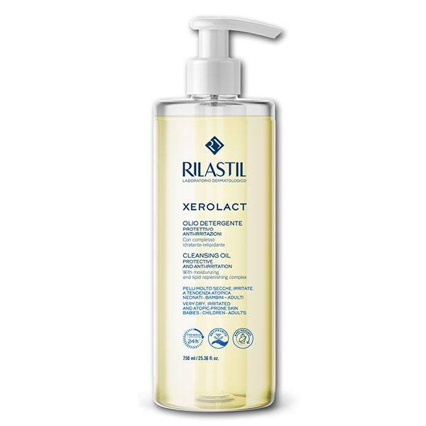Rilastil Xerolact Olio Detergente - Ideale per pelle a tendenza atopica - 750 ml