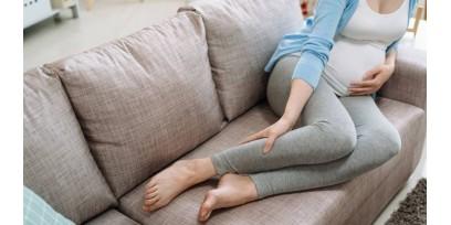 Gambe gonfie, caldo e gravidanza