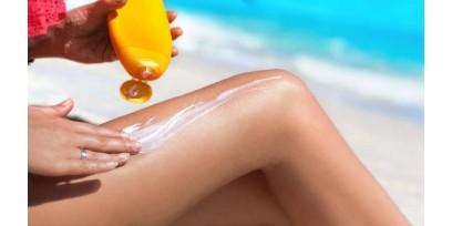 Idrata la pelle dopo il sole