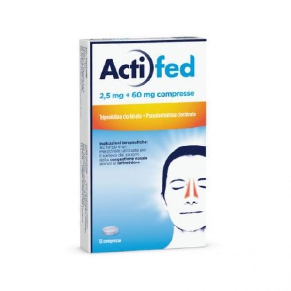 Actifed - Decongestionante della mucosa ...