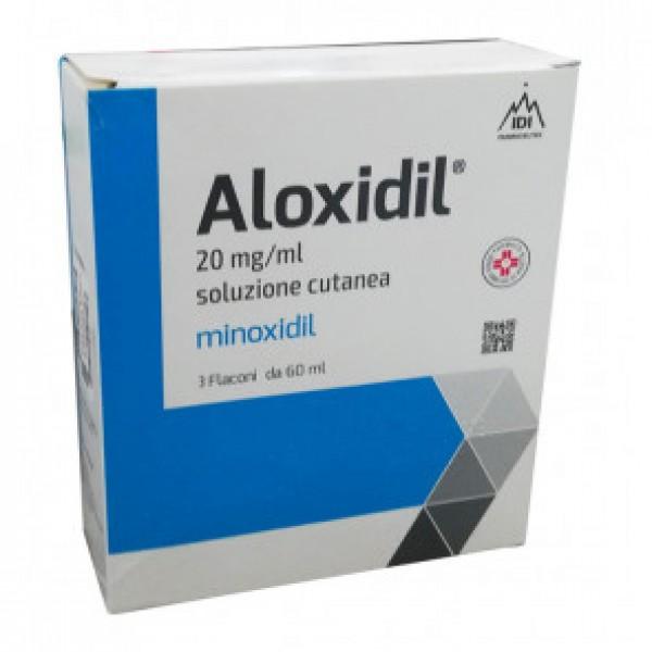 Aloxidil  Soluzione Cutanea 20mg/ml 3 Fl...