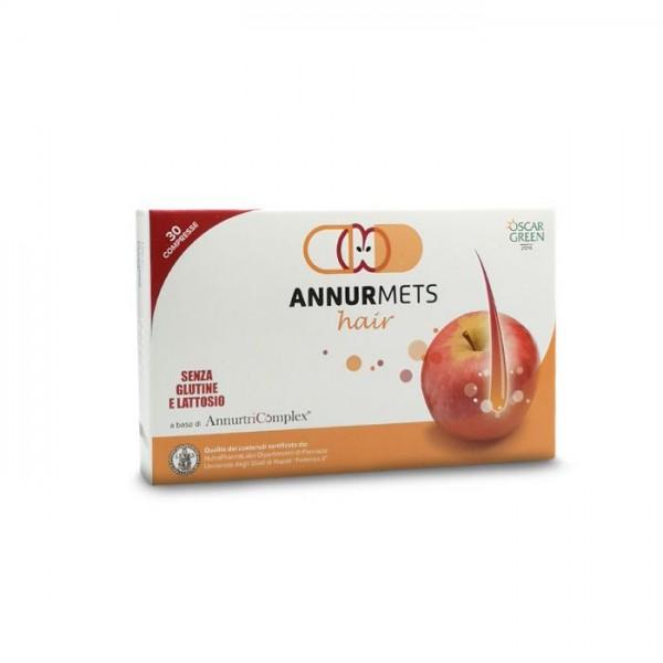 AnnurMets Hair 30 Capsule 550 mg