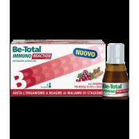 BeTotal Immuno Reaction - Integratore alimentare per i primi sintomi dei malanni di stagione - 8 flaconcini