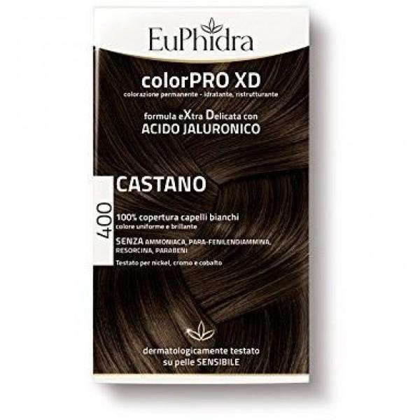 Euphidra ColorPRO XD Colorazione Permanente 400 Castano