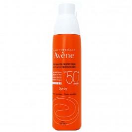 Eau Thermale Avene Spray Solare SPF 50+ Protezione Solare Molto Alta Pelli Sensibili 200 ml