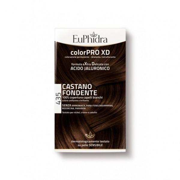 Euphidra ColorPRO XD Colorazione Permanente 435 Castano Fondente