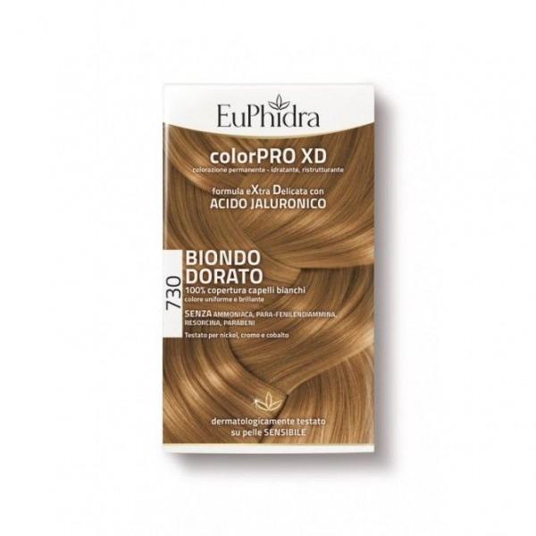 Euphidra ColorPRO XD Colorazione Permanente 730 Biondo Dorato