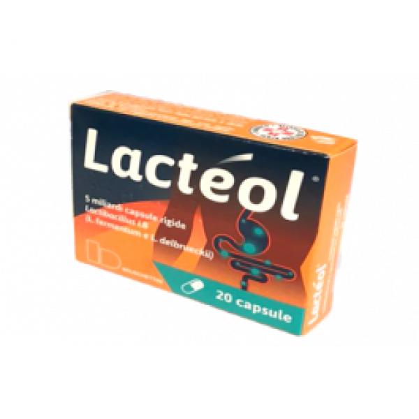 Lacteol 5 Miliardi 20 Capsule