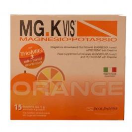 Mgk Vis Orange Magnesio e Potassio Gusto Arancia 15 Bustine