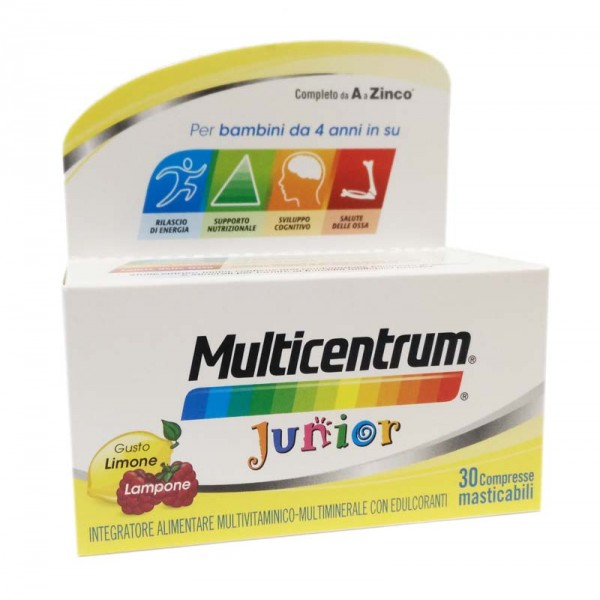 Multicentrum Junior 30 Compresse Mastica...