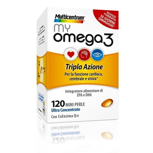 Multicentrum My Omega3 120 Capsule