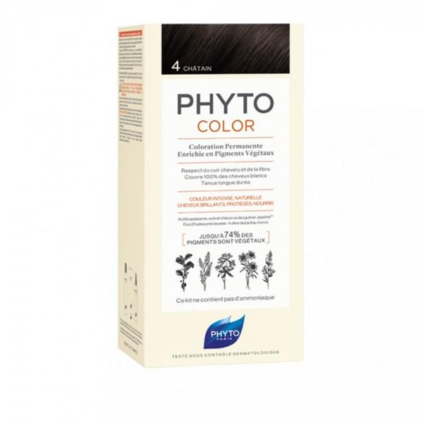 Phyto PhytoColor Tintura Colore 4 Castan...