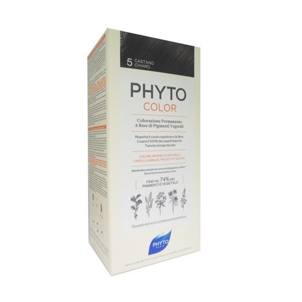 Phyto PhytoColor Tintura Colore 5 Castan...