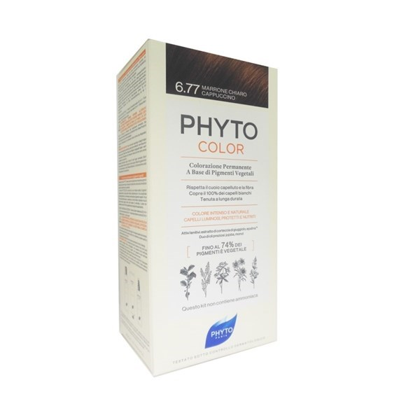 Phyto PhytoColor Tintura Colore 6.77 Marrone Chiaro Cappuccino