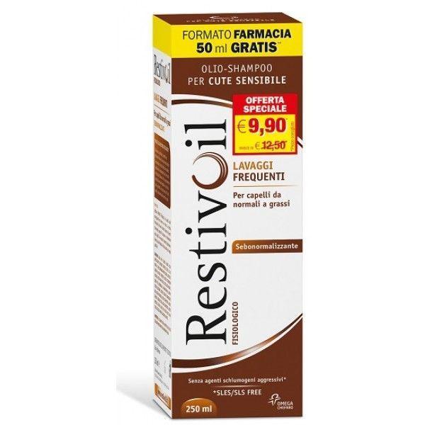 Restivoil Fisiologico Olio Shampoo Sebonormalizzante 250 ml