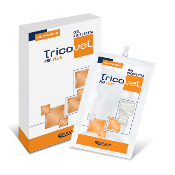 Tricovel PRP Plus Gel Ricrescita 30 ml - 2 bustine da 15 ml
