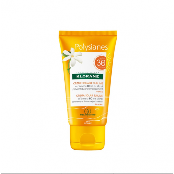 Klorane Polysianes Crema Viso Sublime SP...