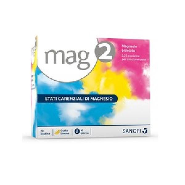 Mag 2 Granulato 20 bustine 2,25g