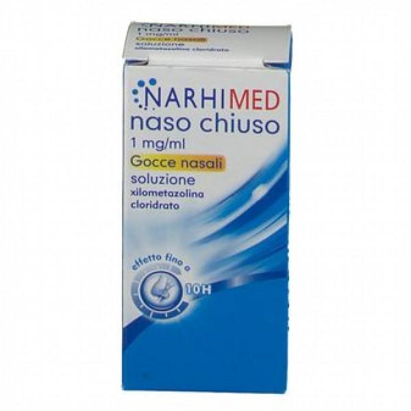Narhimed Naso Chiuso Gocce Nasali 1mg/ml