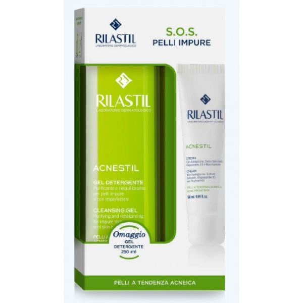 Rilastil Acnestil Crema + Detergente in ...