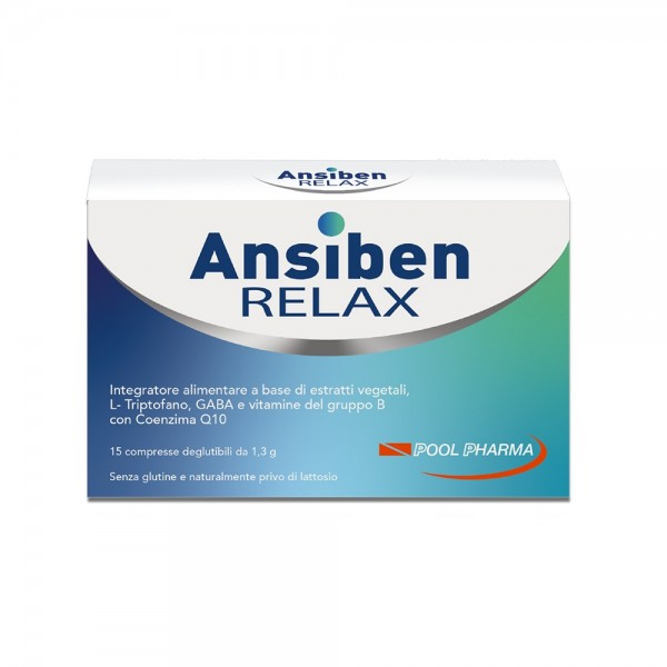 Ansiben Relax - Integratore contro Ansia...