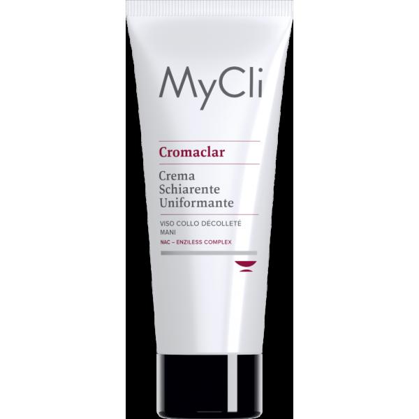 MyCli Cromaclar - Crema schiarente uniformante viso, collo, décolleté, mani - 75 ml