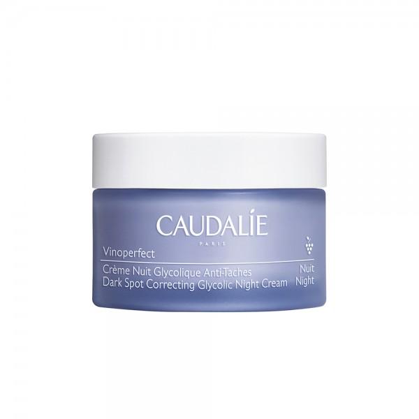 Caudalie Vinoperfect Crema Notte Glicolica Anti-macchie - Crema viso da notte uniformante - 50 ml