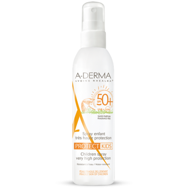 Aderma Protect Kids Spray Bambino SPF 50...