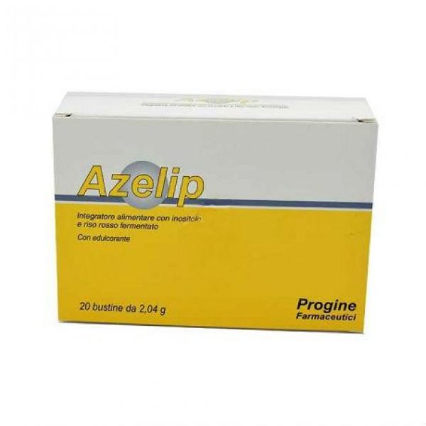 Azelip - Integratore alimentare per il controllo del colesterolo e dei trigliceridi - 20 bustine