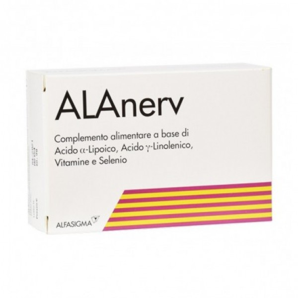 ALANERV 20 Capsule softgel 920mg