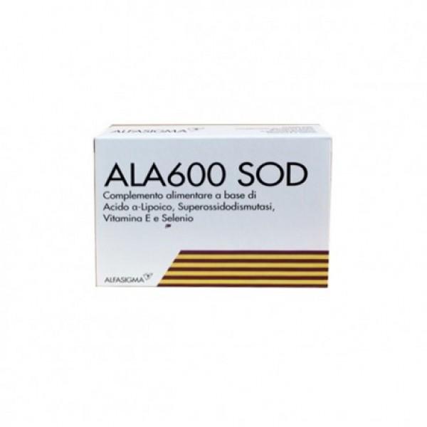 ALA 600 SOD 20 Compresse 1020mg