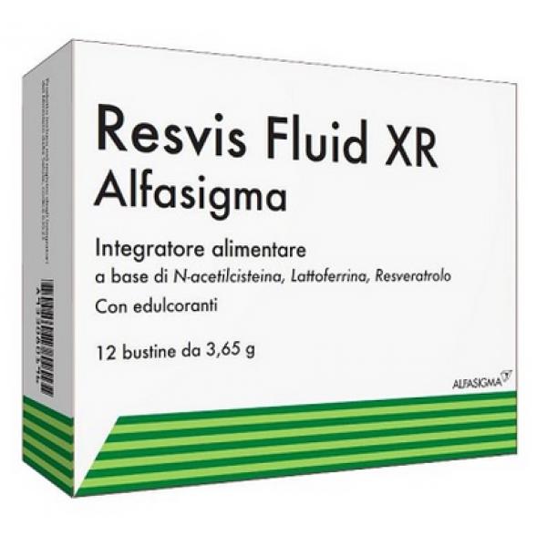 RESVIS XR Fluid 12 Bustine