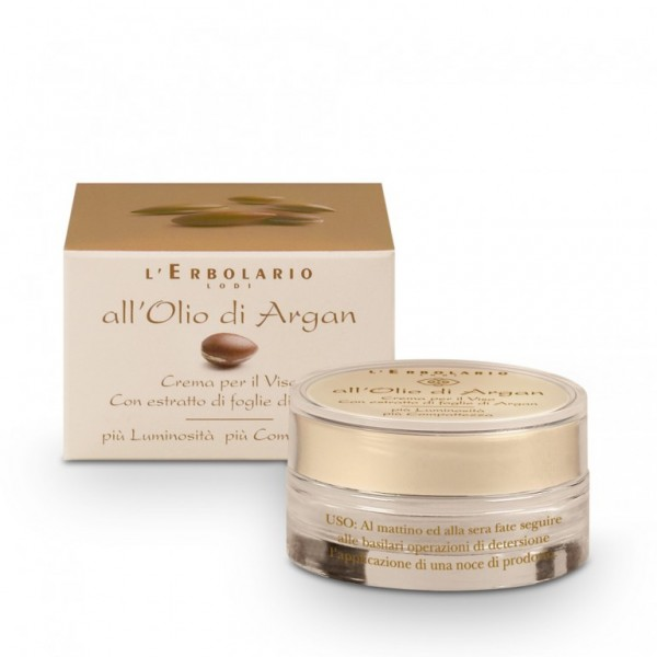 All'Olio Argan Crema Viso 50 ml