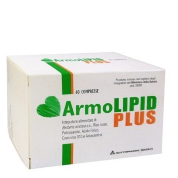 ArmoLIPID PLUS - Integratore alimentare per il controllo del colesterolo - 60 compresse