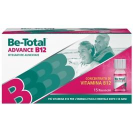 BeTotal Advance B12 - Integratore alimentare per stanchezza fisica e mentale - 15 flaconcini