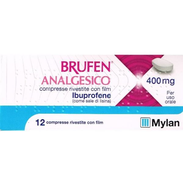 Brufen Analgesico Ibuprofene 12 Compress...
