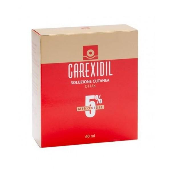 Carexidil - Soluzione Cutanea 5% - 3 flaconi 60ml