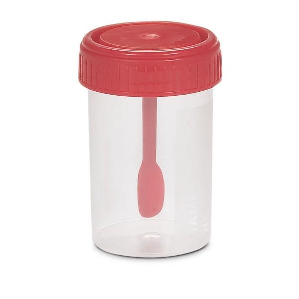 Contenitore Sterile per Feci 60 ml