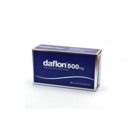 Daflon - Trattamento di emorroidi e fragilità capillare - 60 compresse rivestite - 500 mg