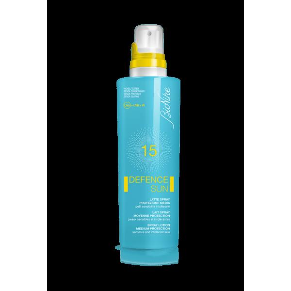 Defence Sun SPF 15 Latte Spray Protezion...