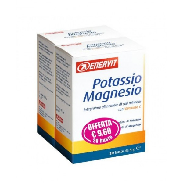 ENERVIT Magnesio e Potassio Promo 20 Bus...